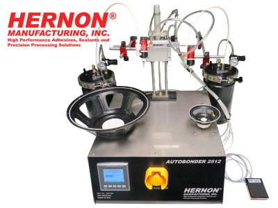Hernon Manufacturing Releases New Dual Turntable Precision Dispensing System