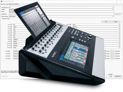 QSC Expands TouchMix Series Capabilities with TouchMix DAW Utility Version 2.0 Software