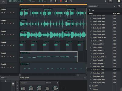 New Amped Studio Free Hybrid Digital Audio Workstation