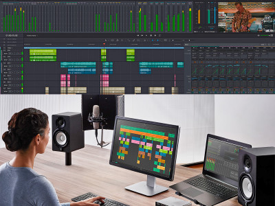 Blackmagic Design Announces DaVinci Resolve 14 Software now with Complete Audio Tools Following Acquisition of Fairlight