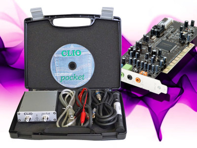 Practical Test & Measurement: Sound Cards for Data Acquisition in Audio Measurements (Part 7) - Pitting the CLIO Pocket Against a Sound Card