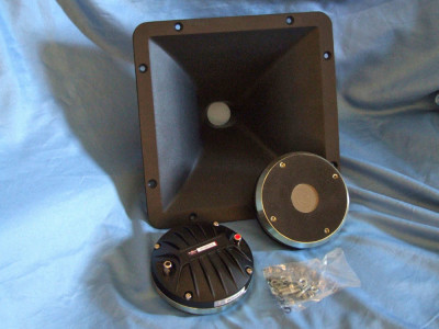 Test Bench: B&C Speakers DE1090TN Compression Driver