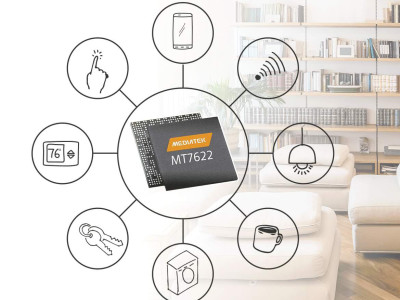MediaTek Launches 4x4 802.11n/Bluetooth 5.0 System-on-Chip with Dedicated Wi-Fi Accelerator