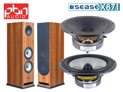 New PBN Audio CX871 Speaker Kit with SEAS Drivers Now Available