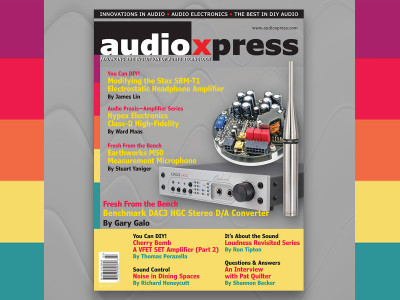Get the Objective Perspective on Audio with audioXpress July 2017!