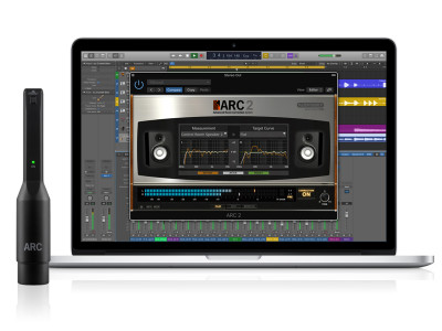 IK Multimedia's ARC System 2.5 with New MEMS Microphone is Now Shipping