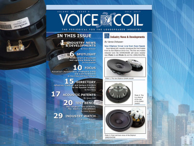 Get in the Loudspeaker Industry Loop with Voice Coil July 2017