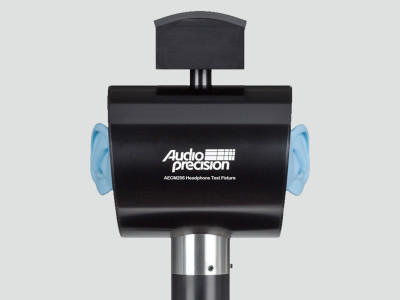 Audio Precision Unveils AECM206 Binaural Headphone Test Fixture