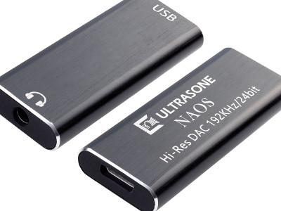Ultrasone Announces NAOS Ultra-Compact 24bit/192kHz Headphone DAC