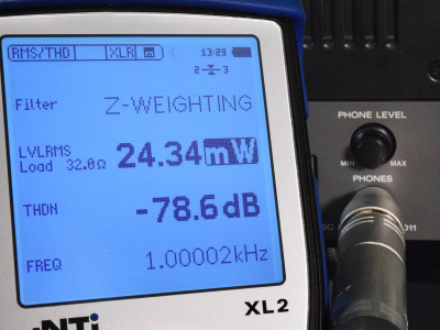 Power Measurements in Service and Quality Assurance with the XL2 Acoustic and Audio Analyzer