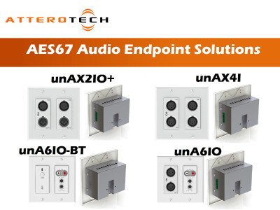 Attero Tech Helps Solving the Audio-Over-IP Puzzle