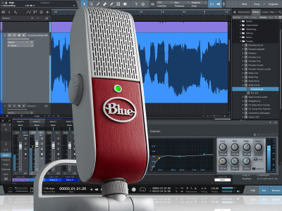Blue Announces Raspberry Studio All-In-One Mobile Recording System