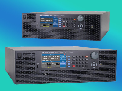 B&K Precision Extends Programmable AC Power Sources up to 3000VA