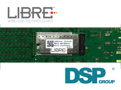 Libre Wireless Technologies Introduces Mic-to-Cloud Voice Module with Integrated Far Field Voice Interface/Control Based on DSP Group's SmartVoice Technology