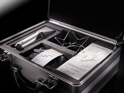 Neumann Celebrates 50 Years of the Legendary U 87 with Limited  Rhodium Edition