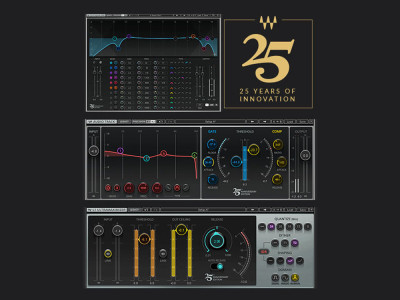 Waves Audio Celebrates 25 Years of Innovation in Digital Audio Signal Processing Plug-ins