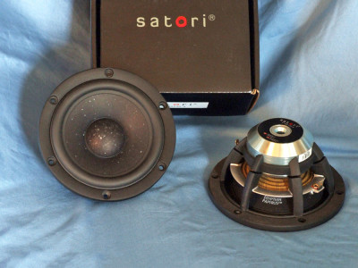 "SB Acoustics Satori MR13P-4. A New Home Audio 5.25"" Midrange Driver"