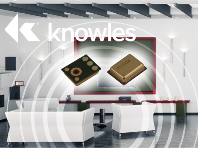 Knowles Introduces Analog MEMS Microphone with 70 dB SNR for Voice and ANC Applications
