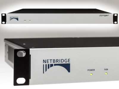 Jünger Audio Introduces Netbridge UHD Advanced Audio Interface