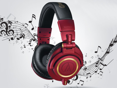Audio-Technica Launches ATH-M50xRD Red-and-Gold Version of its Professional Monitor Headphones