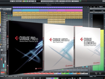 Steinberg Surprises Studio Market with Early Unveiling of Cubase 9.5