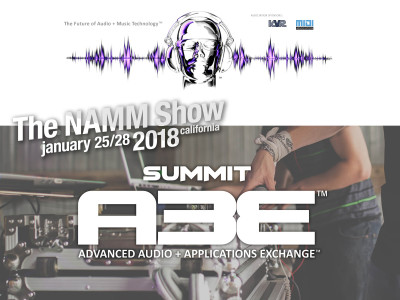 A3E to Present The Future of Audio at The 2018 NAMM Show