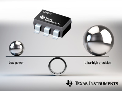 Texas Instruments Announces New Zero-Drift Lowest-Power Op Amp