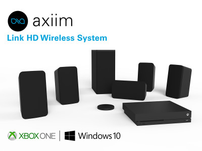 Axiim to Showcase Wireless Home Theater Solution For Xbox One And Windows 10 PCs at CES 2018