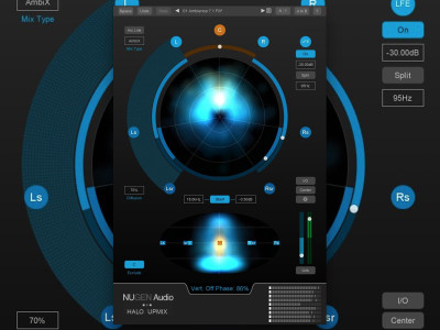 NUGEN Audio Delivers Immersive Update for Halo Upmix with Second & Third Order Ambisonic Output and Auro-3D