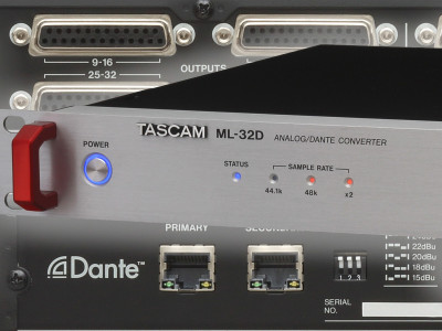 Tascam Expands Dante-Enabled Lineup with New Multichannel Interfaces