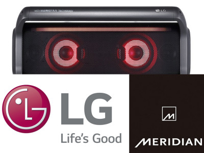 LG Electronics Partners with Meridian Audio on New Speaker Designs for CES 2018