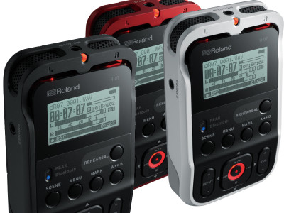 Roland Announces R-07 High-Resolution Audio Recorder with Enhanced Bluetooth