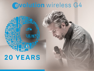 Sennheiser Celebrates 20 Years of evolution Series and Introduces evolution Wireless G4 Systems