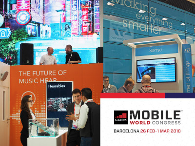 The GSMA Mobile World Congress 2018 Returns to Discuss the Future of Personal Technologies and Wearables