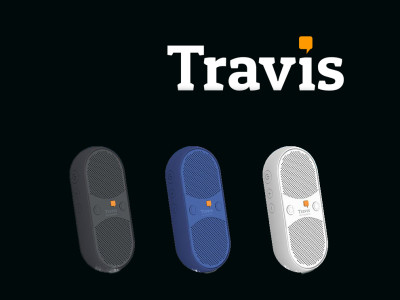 Travis Launches Travis Blue Translating Bluetooth Speaker on Indiegogo
