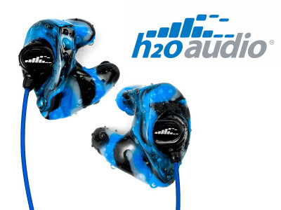 H2O Audio Announces World's First Custom Premium Waterproof Earphones