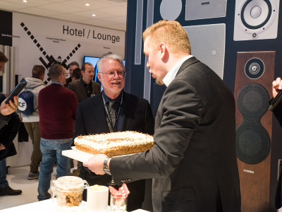Dan Dugan Triple Anniversary Celebration at ISE 2018