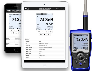 NTi Audio Introduces XL2 Remote Control via Web Browser