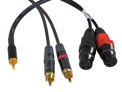 Sescom Attenuating Line to Mic Level Cables for 2-Volt Audio Signals