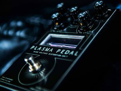 Gamechanger Audio Promotes New Guitar Distortion PLASMA Pedal with Xenon-Filled Tube