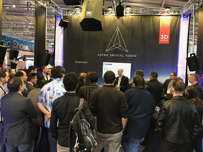 Astro Spatial Audio to Demonstrate Object-Based 3D Sound with Third-Party Integration at Prolight+Sound 2018