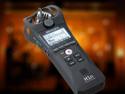 Zoom Launches Full-Featured H1n Handy Recorder with Analog-Style Gain Control