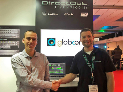 DirectOut Premiers globcon Software Support for Unified Network Control