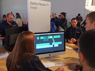 Blackmagic Design Announces DaVinci Resolve 15 with Improved Audio Features and New Fairlight Audio Consoles