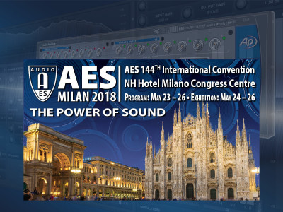 "Audio Precision Engineers Contribute to ""The Power of Sound,"" Deliver Trio of Presentations at AES-Milan"
