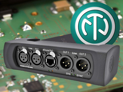 Neutrik Announces New Dante I/O Interface