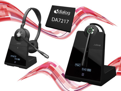 Dialog Semiconductor's SmartBeat SoC Enhances Jabra Engage Headset Series