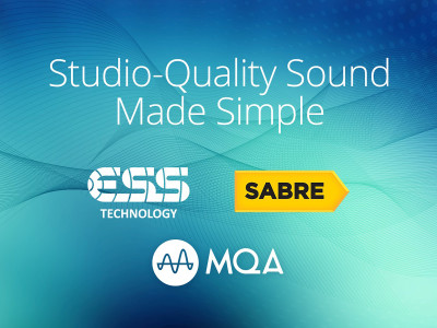 ESS Introduces the World's First Low-Power Sabre DAC with Hardware MQA Hi-Res Rendering