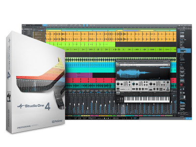 PreSonus Announces New Studio One 4 Software DAW Release