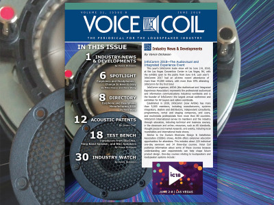 Prepare for Change: Voice Coil June 2018 is Ready to Download